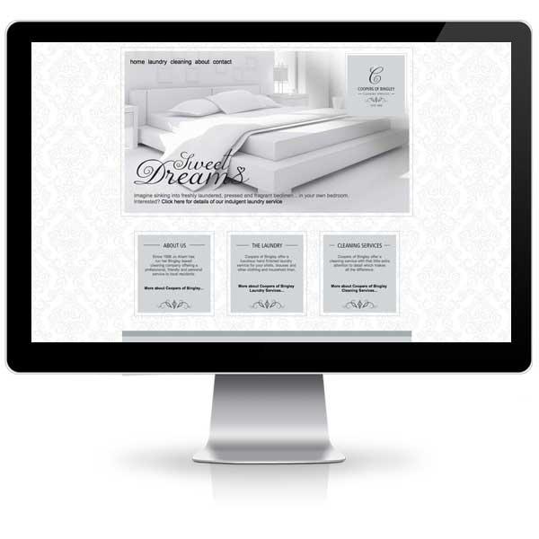 Coopers website design created by Liz Hall Design