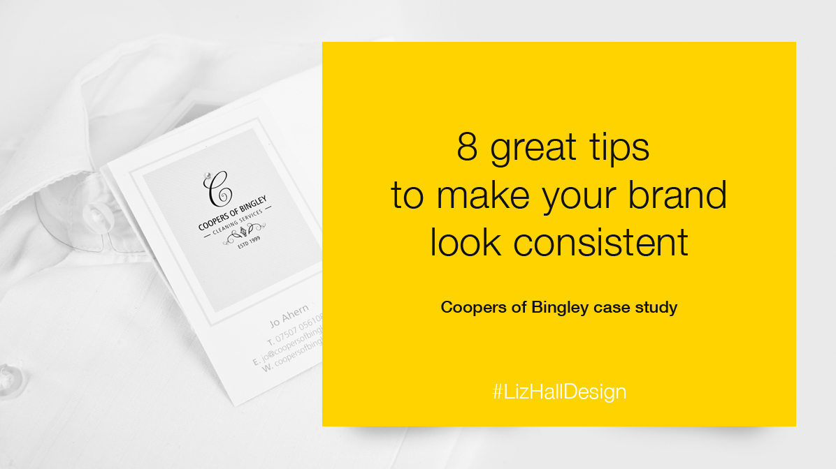 8 great tips to make your brand look consistent from Liz Hall Design