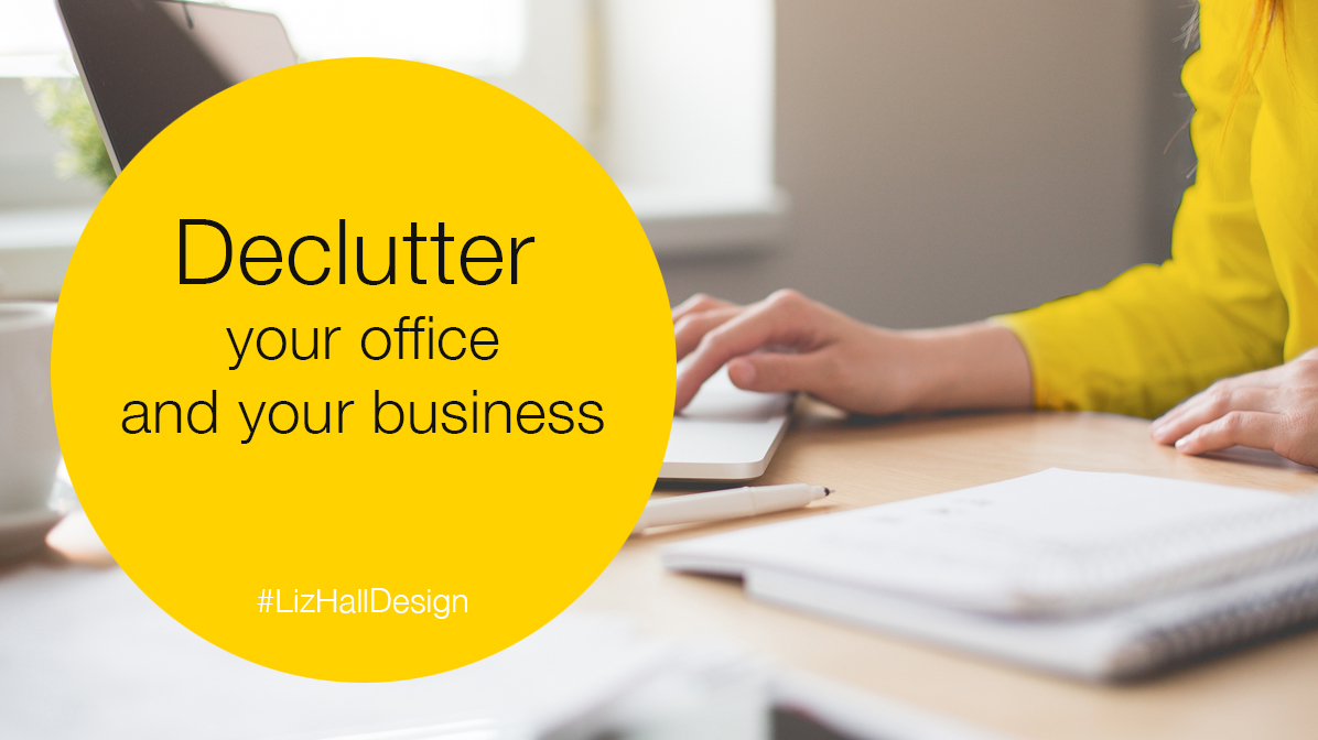 Liz Hall Design, declutter your business, logo design, website design