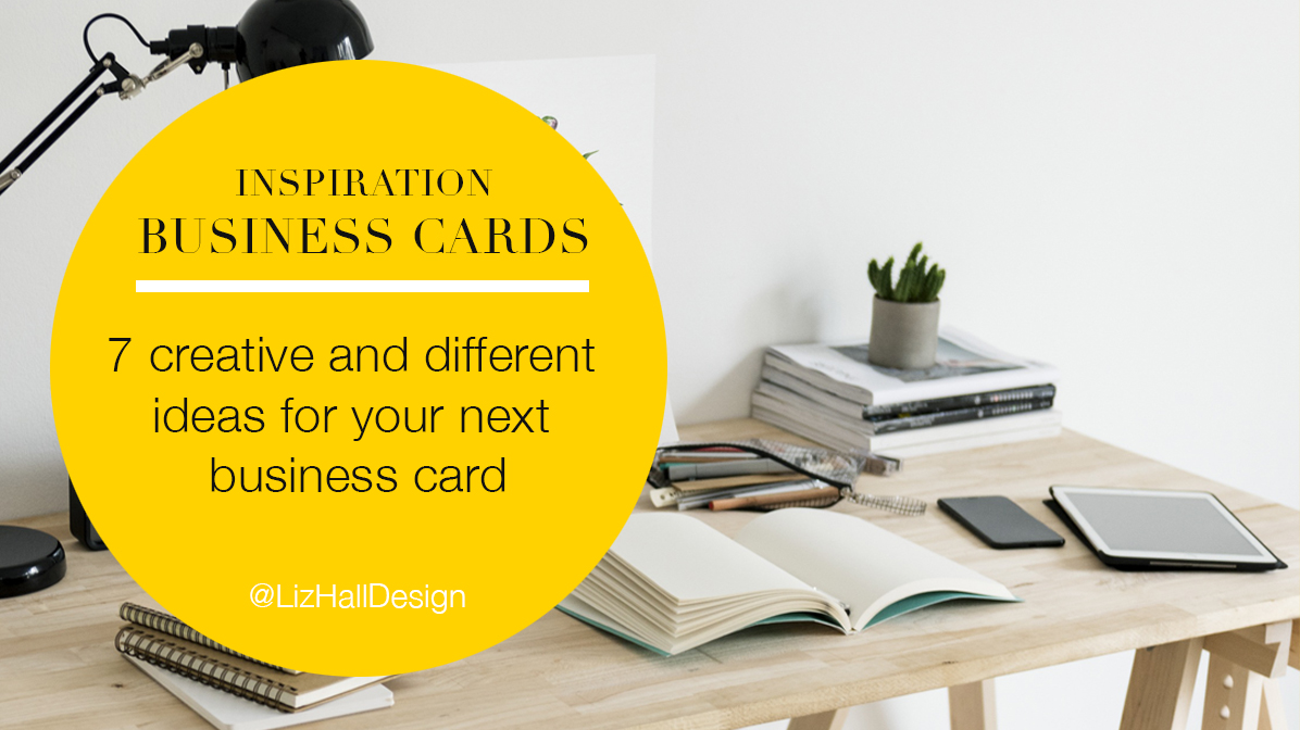 Liz Hall Design - Logo design, graphic design, Bradford - business card inspiration