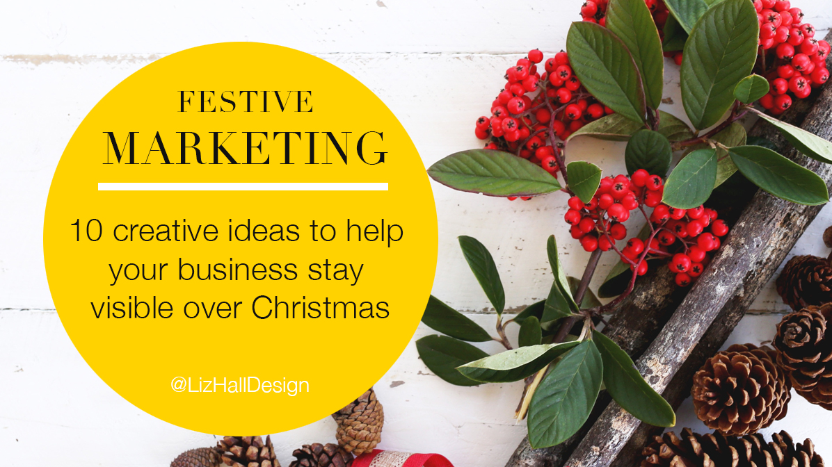 Christmas marketing - Liz Hall Design - graphic design, logo design, Bradford