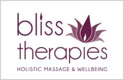 Liz Hall Design - Bliss Therapies logo