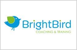 Liz Hall Design - BrightBird logo