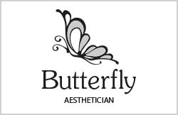 Butterfly logo by Liz Hall Design