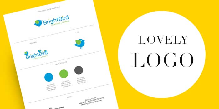 Liz Hall Design - Lovely Logo design package