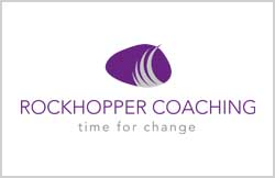 Liz Hall Design - Rockhopper Coaching logo