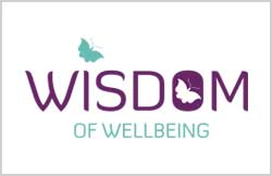 Liz Hall Design - Wisdom of Wellbeing logo