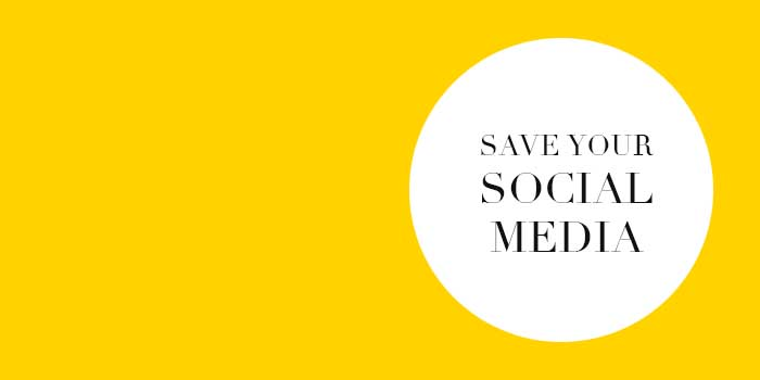 Save Your Social Media - Liz Hall Design