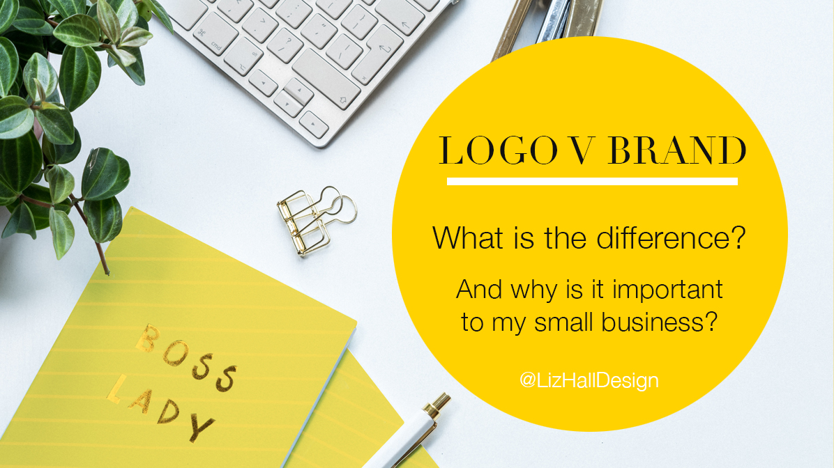 logo v brand - Liz Hall Design