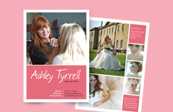 Liz Hall Design - Ashley Tyrell a6 leaflet